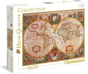 puzzle mapa antiguo