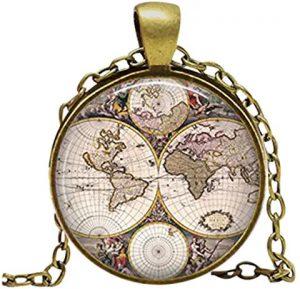 collar cartografia antigua