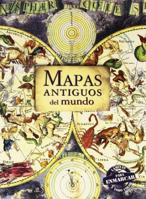 Libro laminas Mapas antiguos mundo