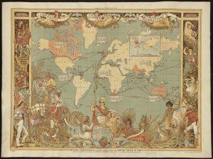 Mapa imperial britanico