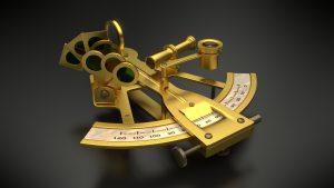 sextante instrumento navegacion