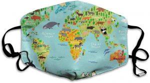 tapabocas mapa mundo
